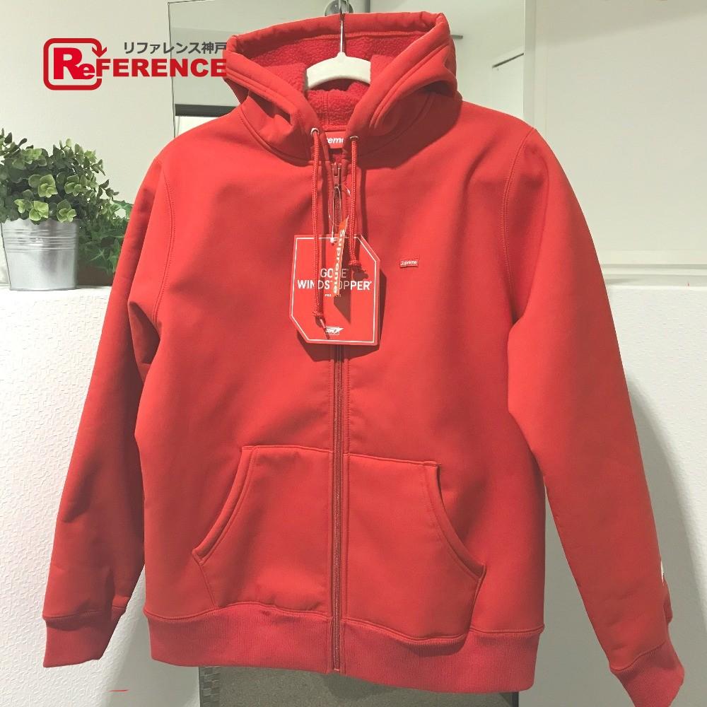 Supreme シュプリーム Supreme 18FW WINDSTOPPER Zip Up Hooded Sweatshirt ジップアップ アウター パーカー レッド メンズ 未使用【中古】