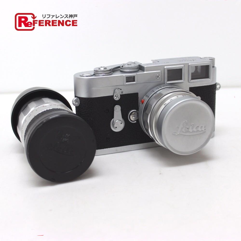 ライカ カメラ M3 ボディ レンズ2点セット Leica ブラック【中古】
