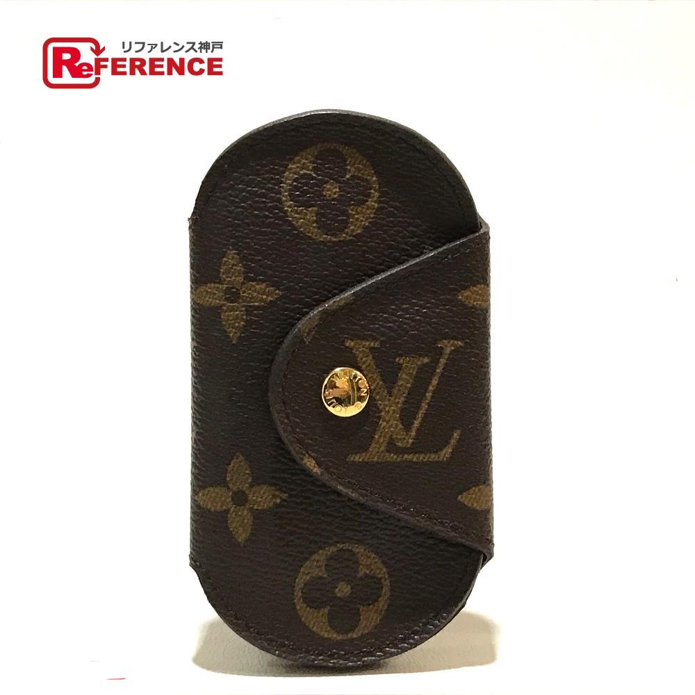 LOUIS VUITTON ルイ・ヴィトン M60115 4連 ミュルティクレ4 ロンPM モノグラム キーケース モノグラムキャンバス レディース 未使用【中古】