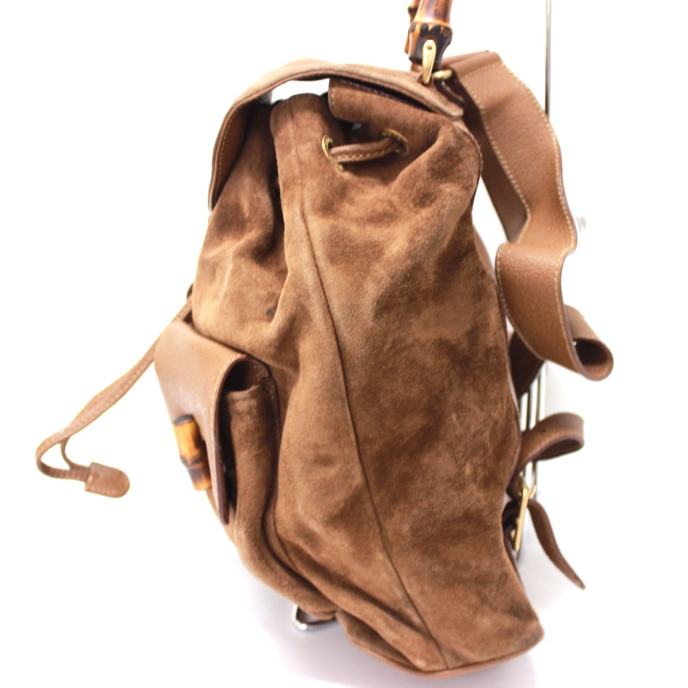 9c660d80d70bcb BRANDSHOP REFERENCE: AUTHENTIC GUCCI Bamboo Hand Bag Backpack-Bag ...