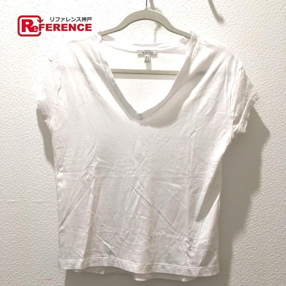 f42d74b809a843 AUTHENTIC ZARA Zara basic Women s Tops T-shirt 2 piece set Short sleeve t-shirt  White