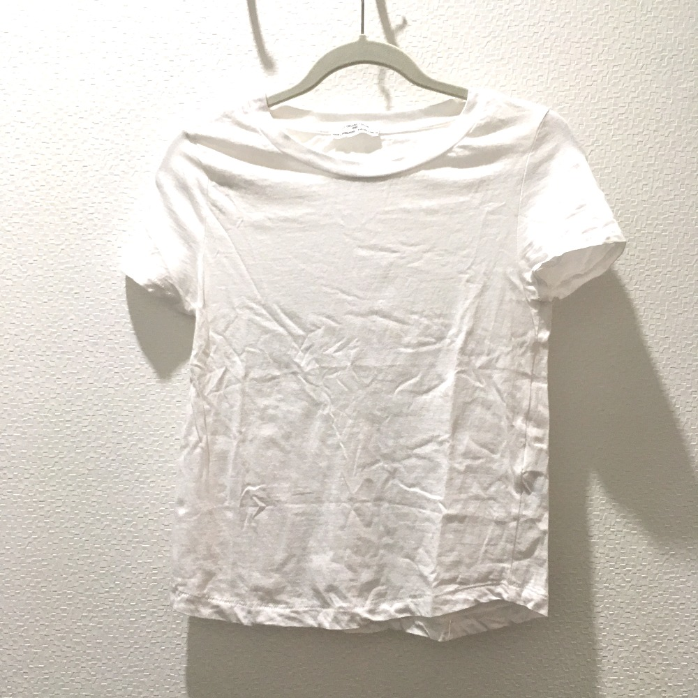 628e4579 AUTHENTIC ZARA Zara basic Women's Tops T-shirt 2 piece set Short sleeve  t-shirt White