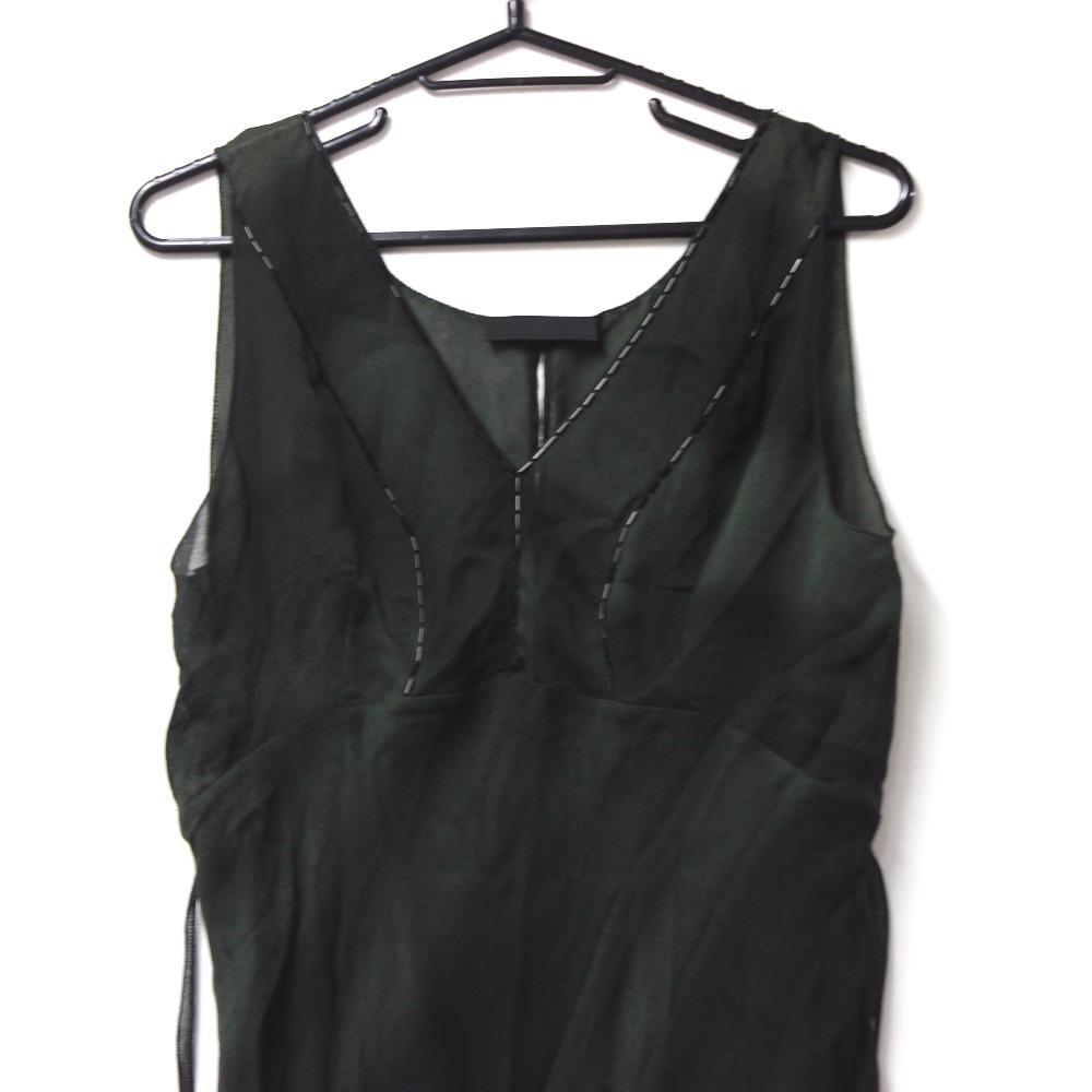 5bccb0b310f BRANDSHOP REFERENCE  AUTHENTIC PRADA See-through Blouse Sleeveless ...
