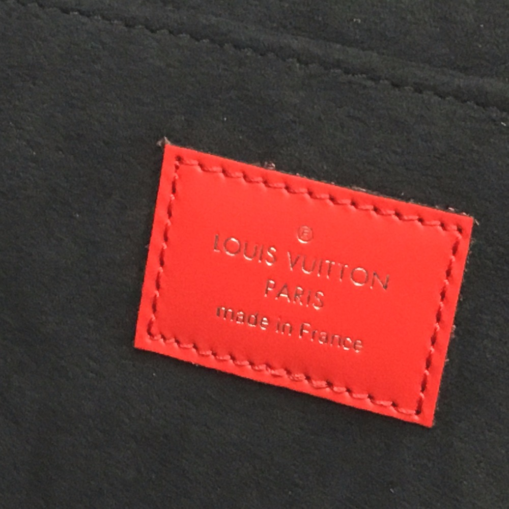 35a7805df029 AUTHENTIC LOUIS VUITTON Louis Vuitton x Supreme Epi Pochette - Jules GM  PO.JOUR GM SP EPI POCHETTE Clutch bag Red Epi Leather M67722