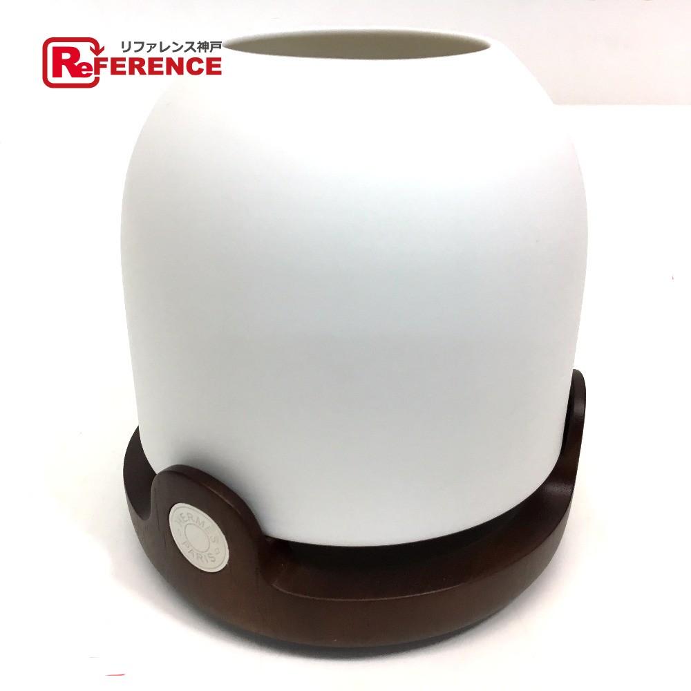 HERMES エルメス 311194M 02 メンズ レディース セレネ 陶器/ローズウッド材 ホワイト ユニセックス 未使用【中古】