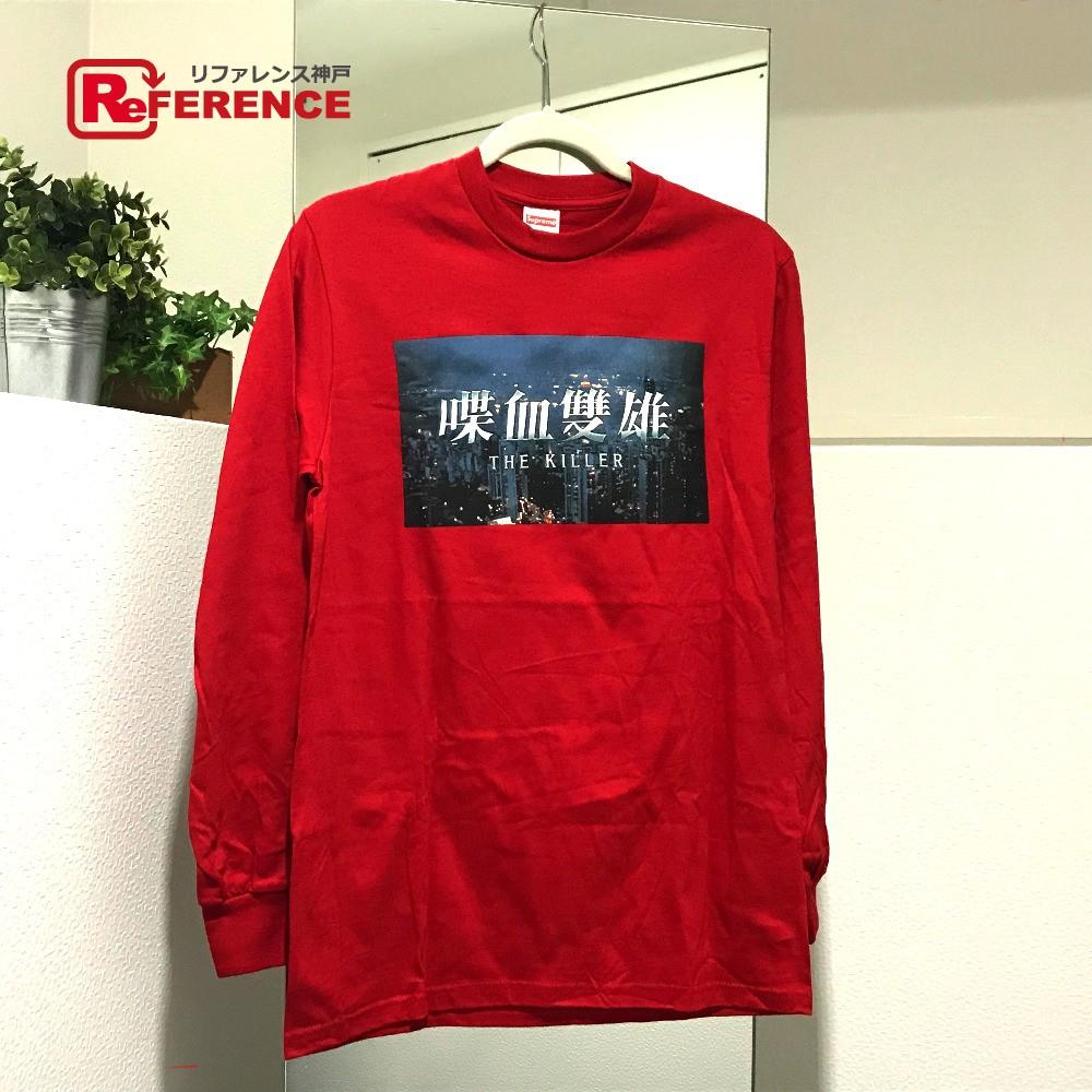 Supreme シュプリーム 18AW Supreme トラスト シャツ The Killer ロングTシャツ レッド メンズ 未使用【中古】