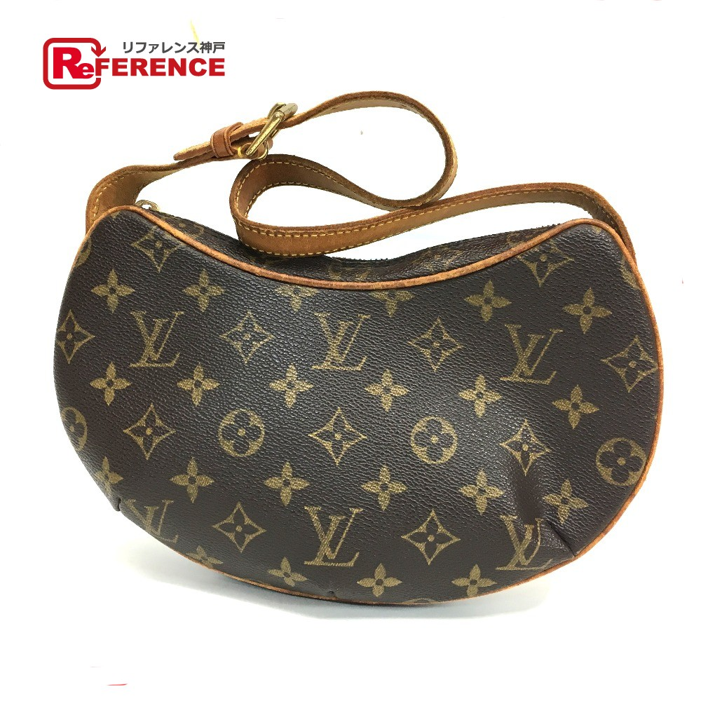 3a11f414ff24 LOUIS VUITTON Louis Vuitton M51510 shoulder bag croissant PM monogram  handbag monogram canvas Lady s