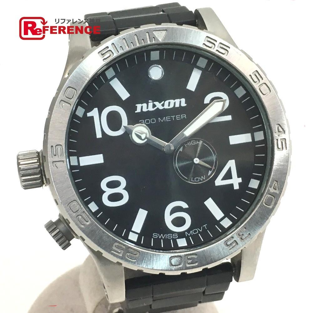 NIXON ニクソン メンズ腕時計 SIMPLIFY THE 51-30 腕時計 SS シルバー メンズ【中古】