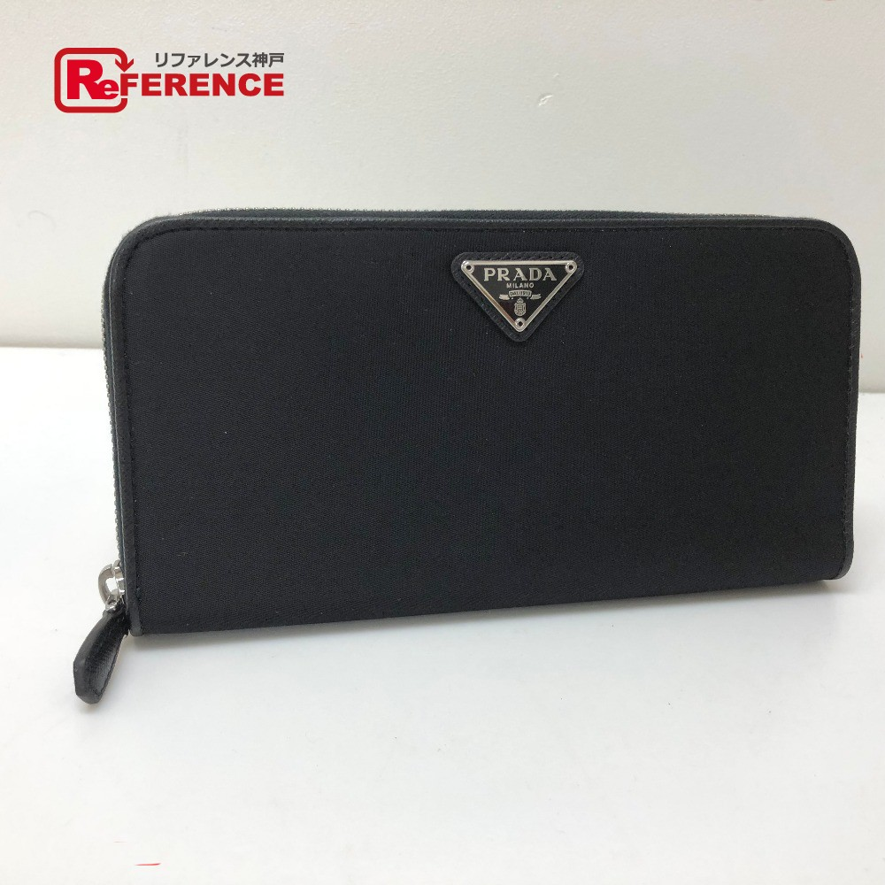 c38ff5a16071 AUTHENTIC PRADA Unused TESSUTO (Test) Zip Around Long Wallet Long Wallet  (with Coin ...