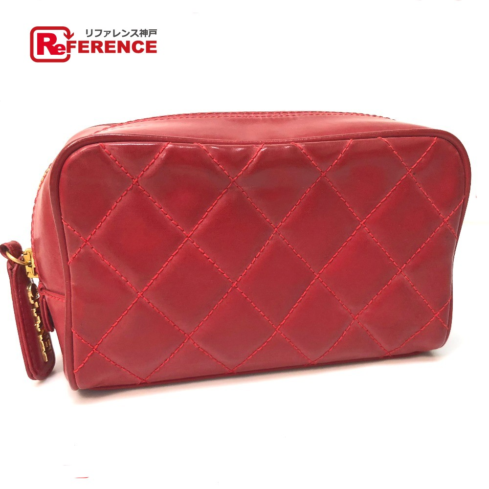 6f12846d8a8ece BRANDSHOP REFERENCE: AUTHENTIC CHANEL Quilted Makeup porch accessory ...