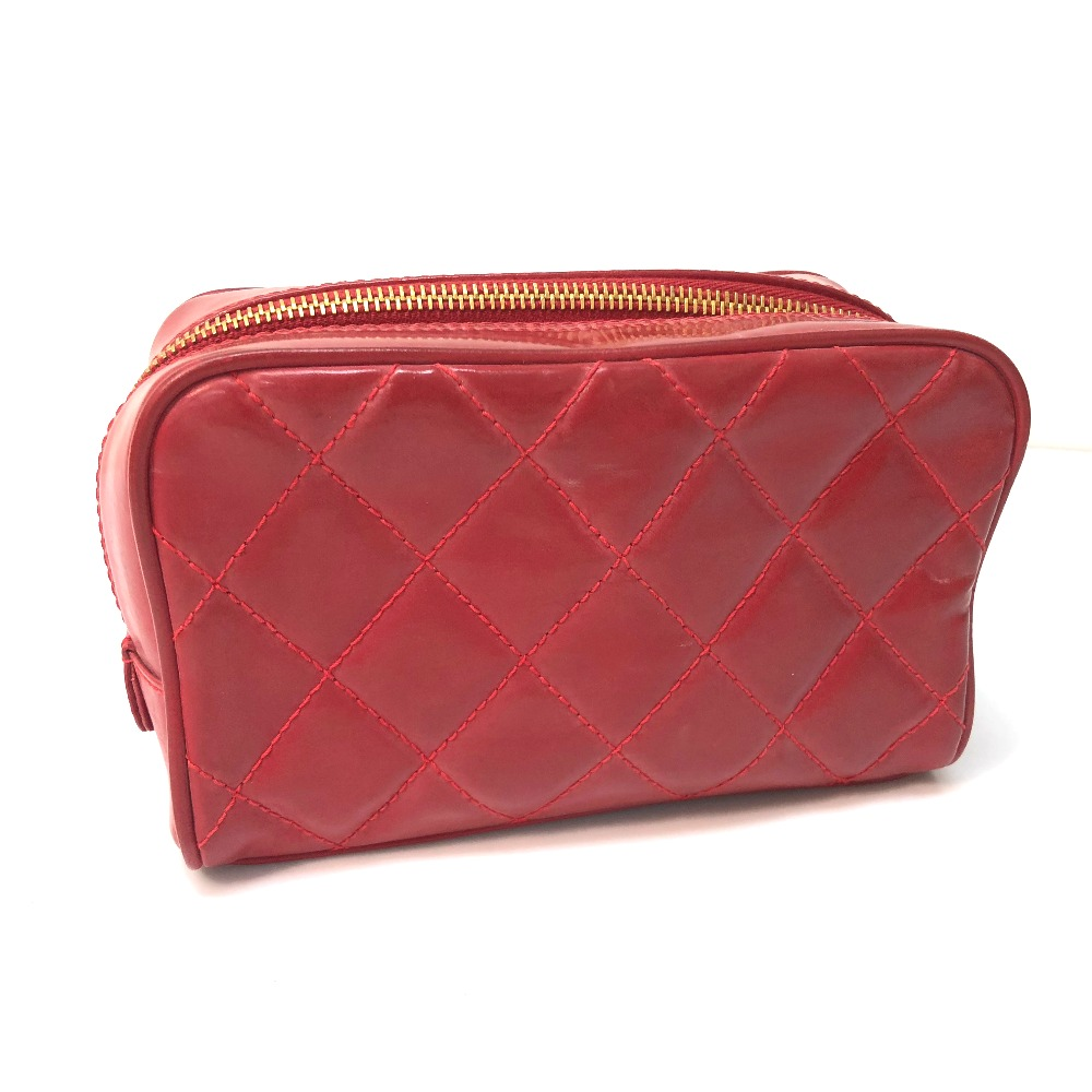 1d27941598 BRANDSHOP REFERENCE: AUTHENTIC CHANEL Quilted Makeup porch accessory ...