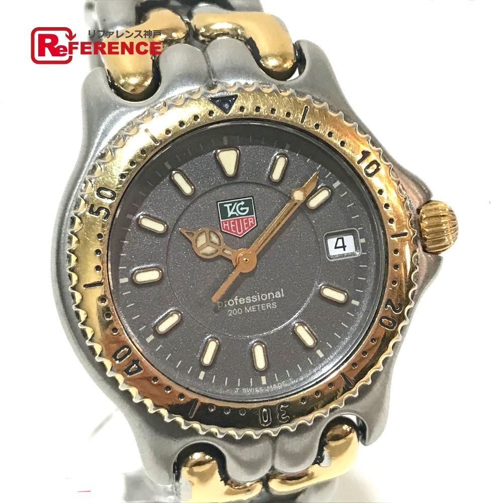 TAG HEUER タグホイヤー WG1120-K0 ボーイズ腕時計 セル プロフェッショナル デイト 腕時計 SS シルバー メンズ【中古】
