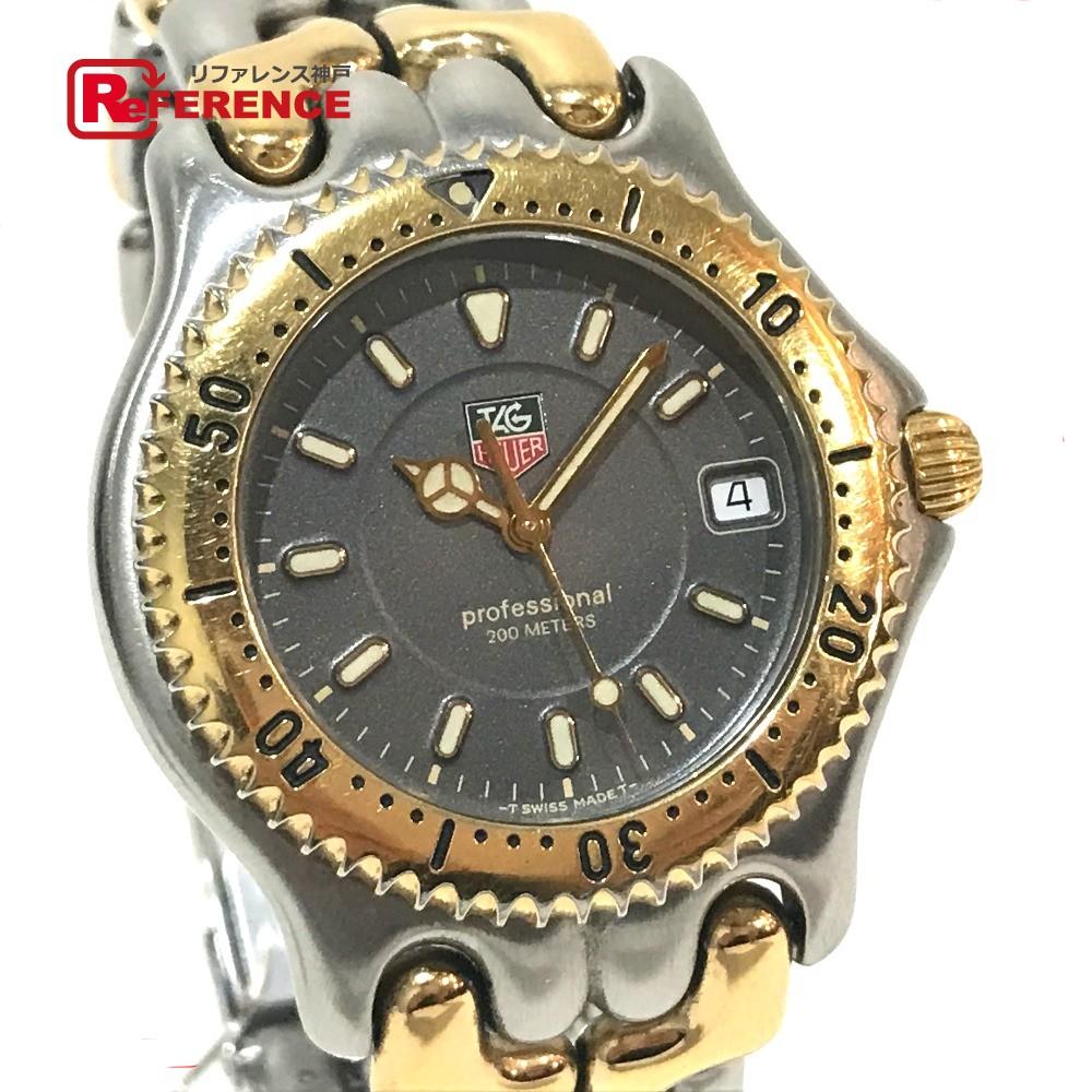TAG HEUER タグホイヤー WG1120-0 ボーイズ腕時計 セル プロフェッショナル デイト 腕時計 SS シルバー ボーイズ【中古】