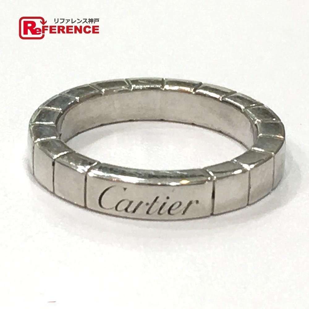 CARTIER カルティエ ラニエール リング・指輪 Pt950 7号 プラチナ レディース【中古】