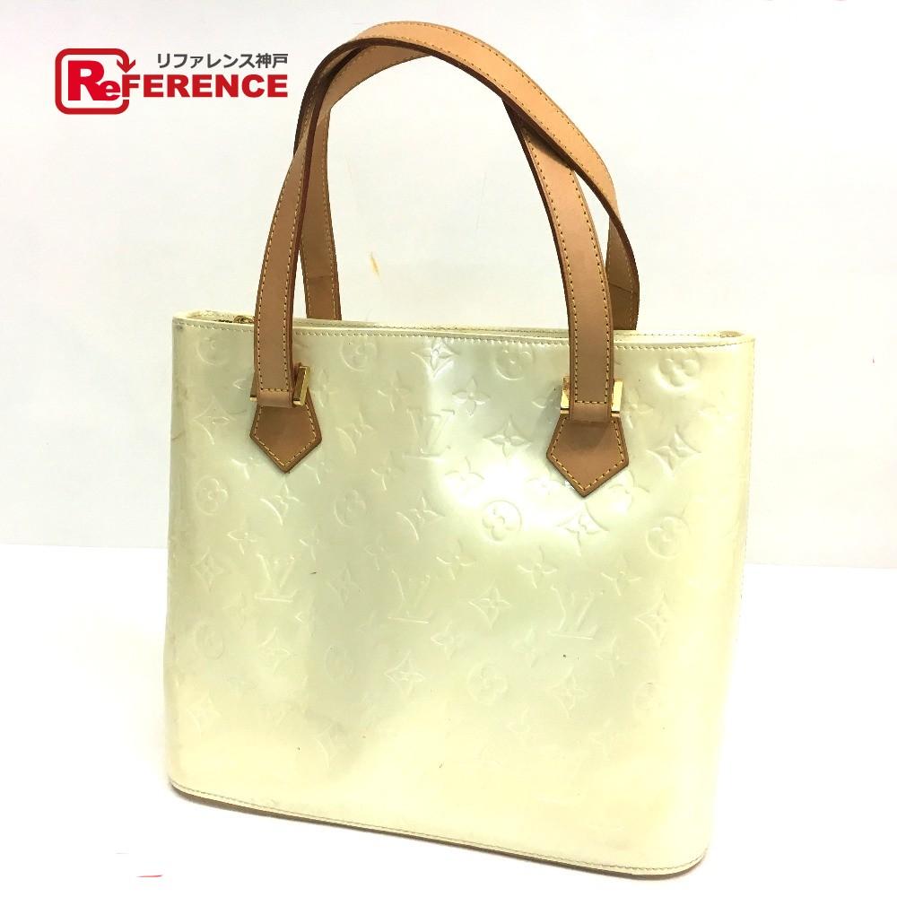BRANDSHOP REFERENCE  AUTHENTIC LOUIS VUITTON Monogram Vernis Houston Tote  Bag Hand Bag Patent Leather M91342  e0c181d812637