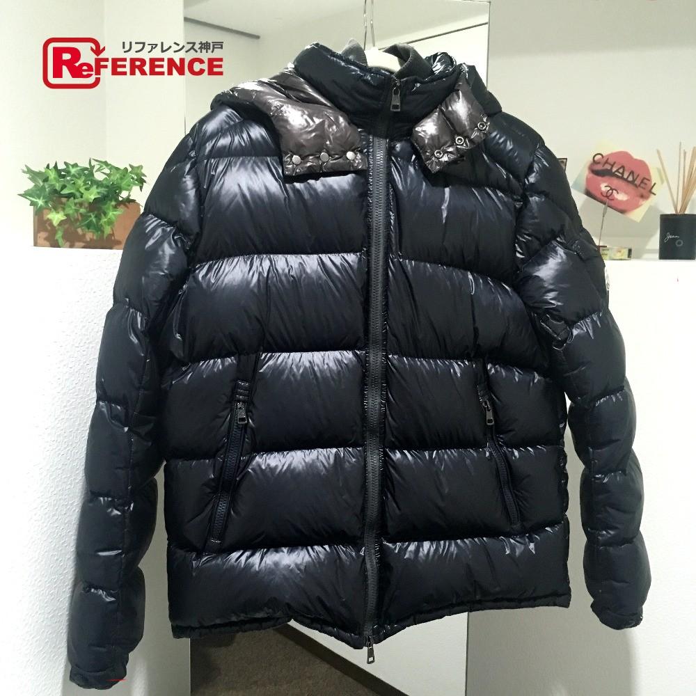 f90877415 AUTHENTIC MONCLER gin Men's Jacket Down jacket Black 53029