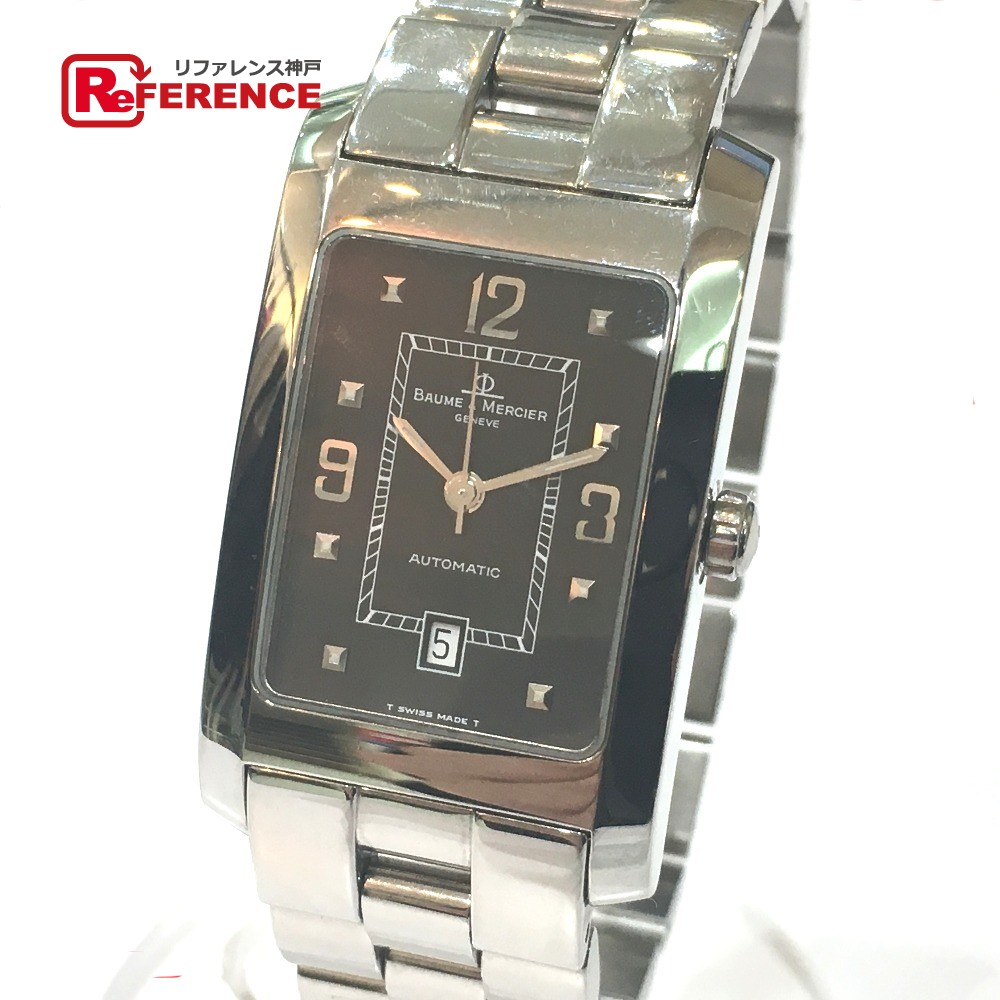 Baume & Mercier ボーム&メルシェ MV045120 メンズ腕時計 ハンプトン 腕時計 SS シルバー メンズ【中古】