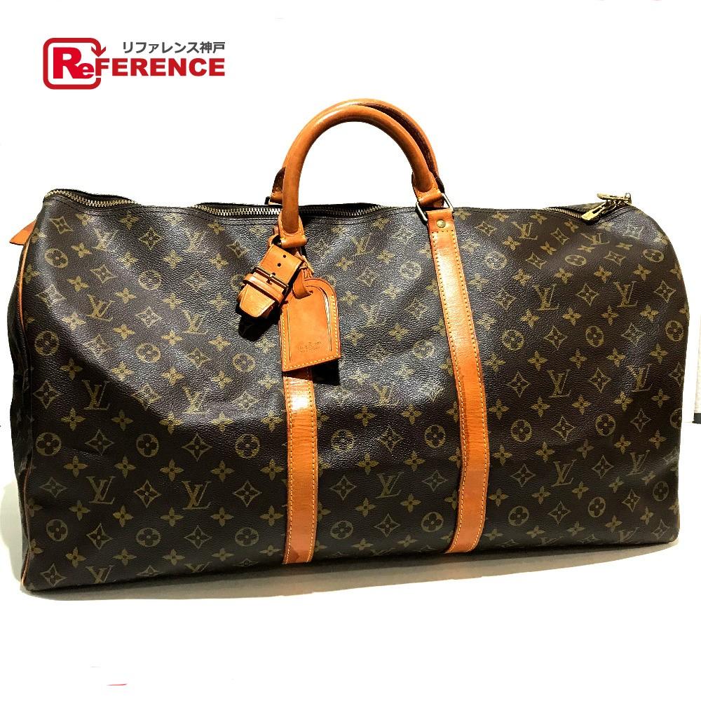BRANDSHOP REFERENCE  AUTHENTIC LOUIS VUITTON Monogram Keepall 60 Men s  Women s Travel Duffle Bag MonogramCanvas M41422  9c5406a7db