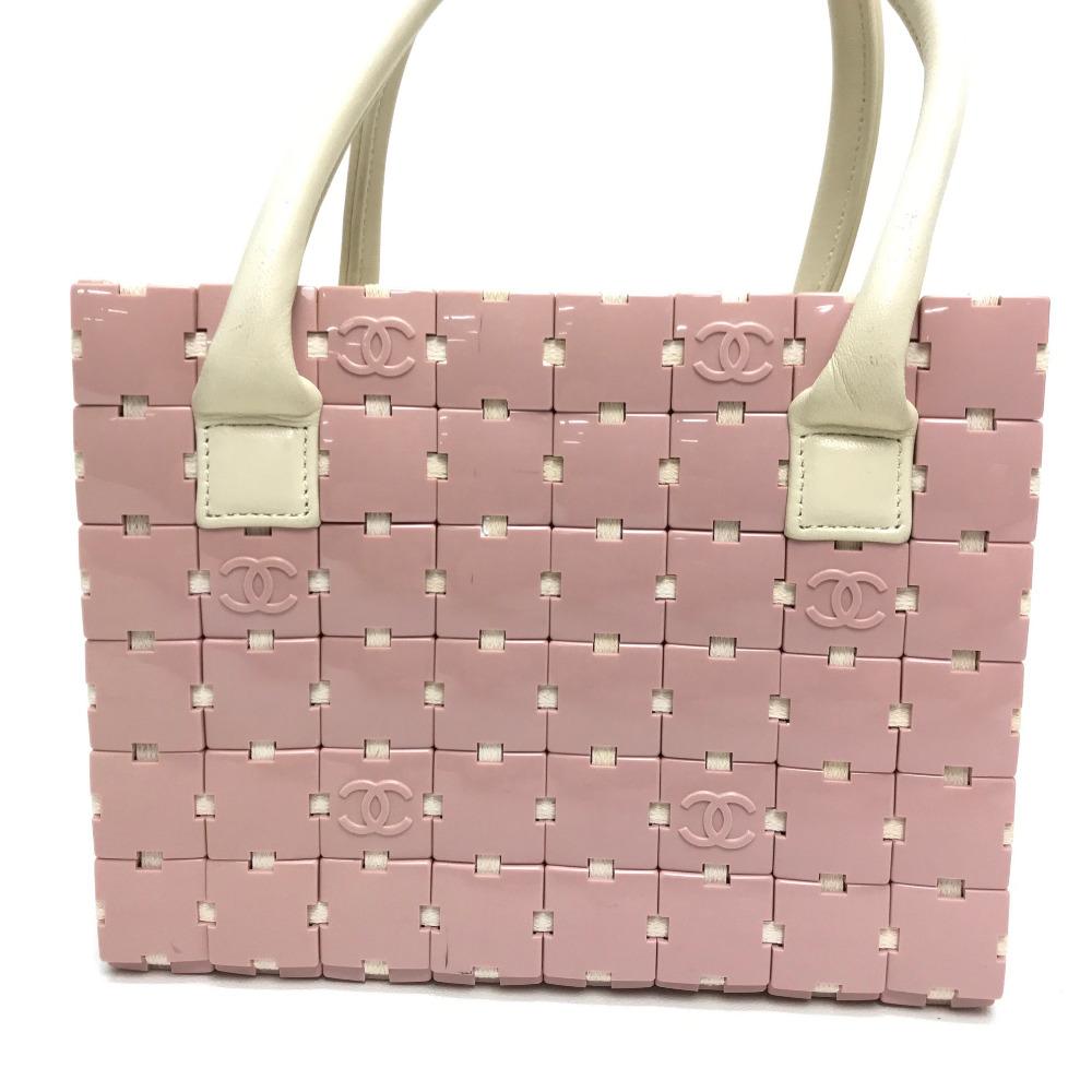 05e592606c796c BRANDSHOP REFERENCE: CHANEL Chanel tote bag puzzle handbag plastic ...