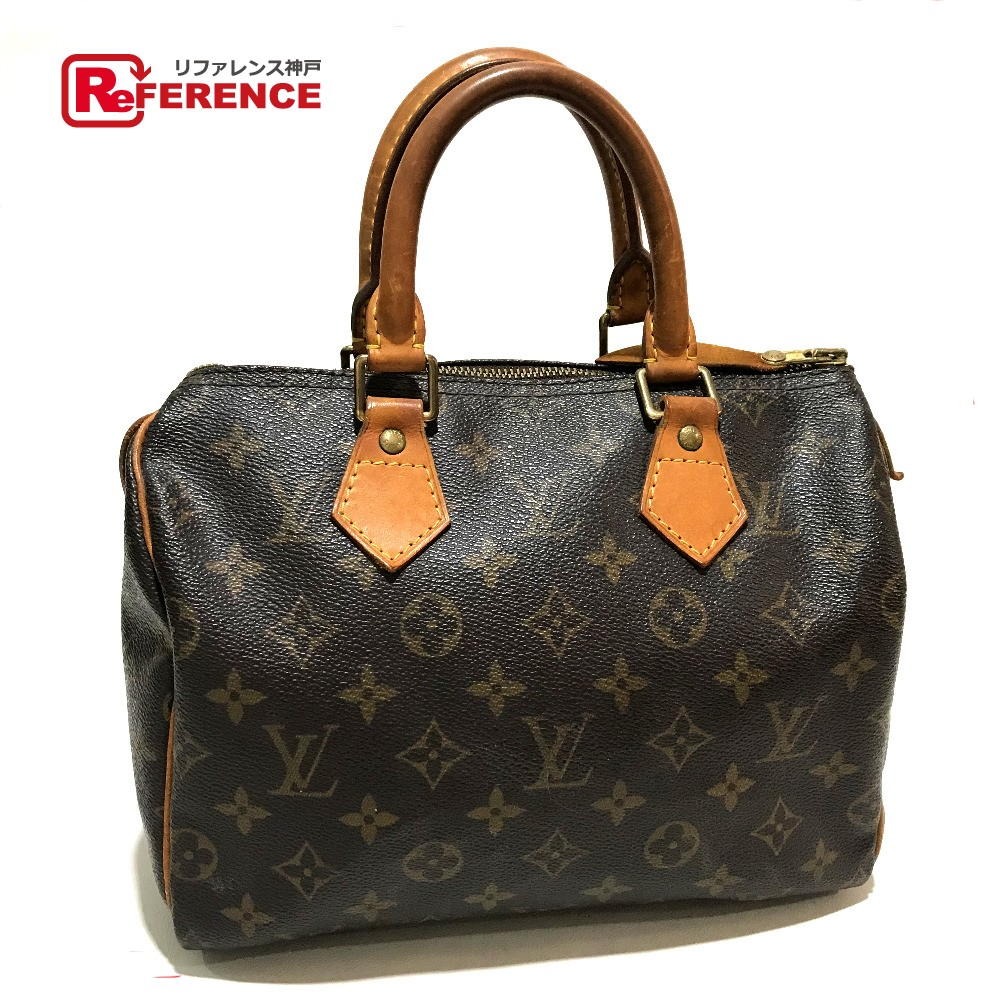 8a91336ea5a9 LOUIS VUITTON Louis Vuitton M41528 mini-Boston bag speedy 25 monogram  Boston bag monogram canvas Lady s