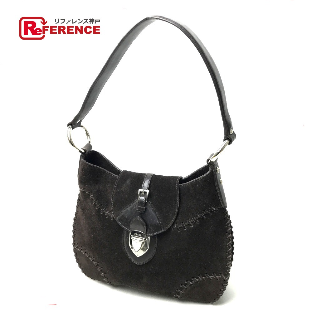 d6ccfe7f9b BRANDSHOP REFERENCE  AUTHENTIC PRADA Semi Shoulder Bag Shoulder Bag ...