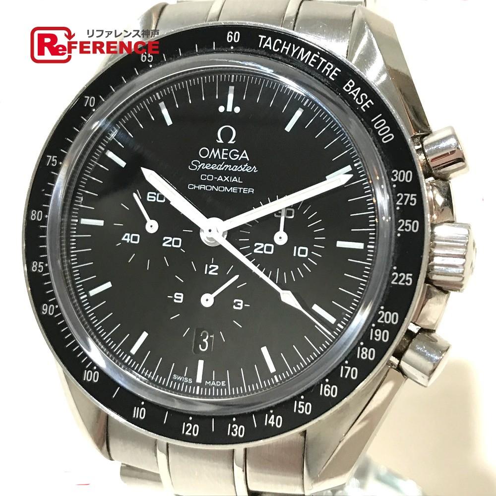 OMEGA オメガ 311.30.44.50.01.001 メンズ腕時計 スピードマスター デイト コーアクシャル 腕時計 SS シルバー メンズ【中古】