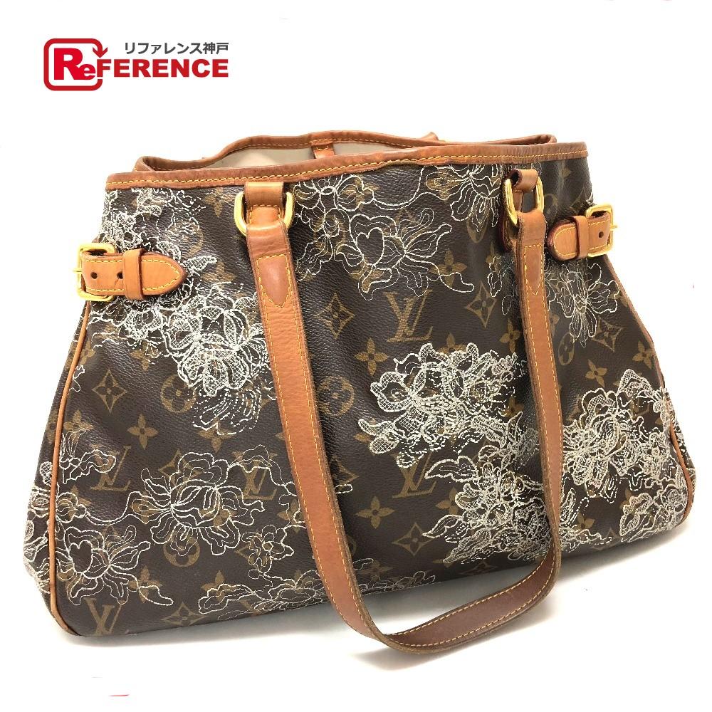 82610936329fa AUTHENTIC LOUIS VUITTON Monogram Duncher Batignolles Horizontal Shoulder  Bag Tote Bag MonogramCanvas embroidery M95400