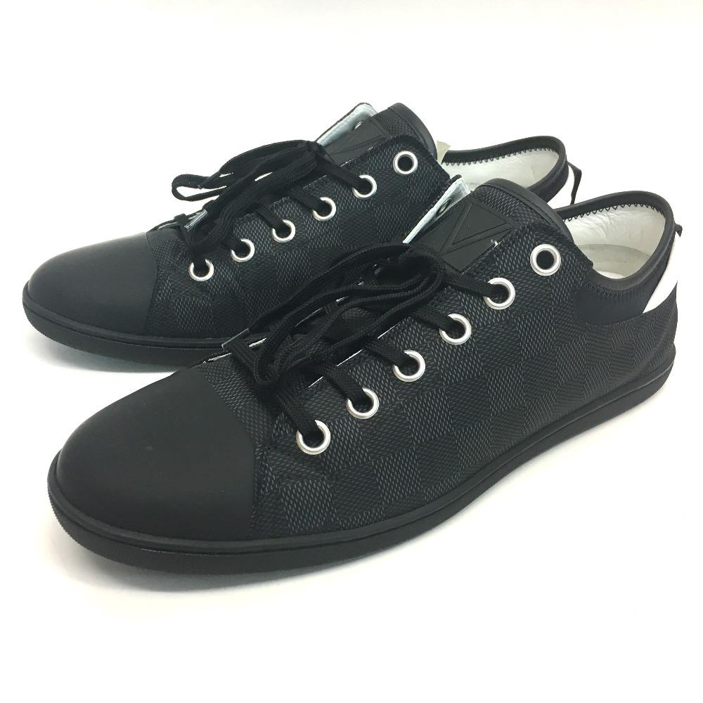 775c25244993 AUTHENTIC LOUIS VUITTON Damier-Graphite Low cut Men s sneakers sneakers  Damier-Graphite Canvas