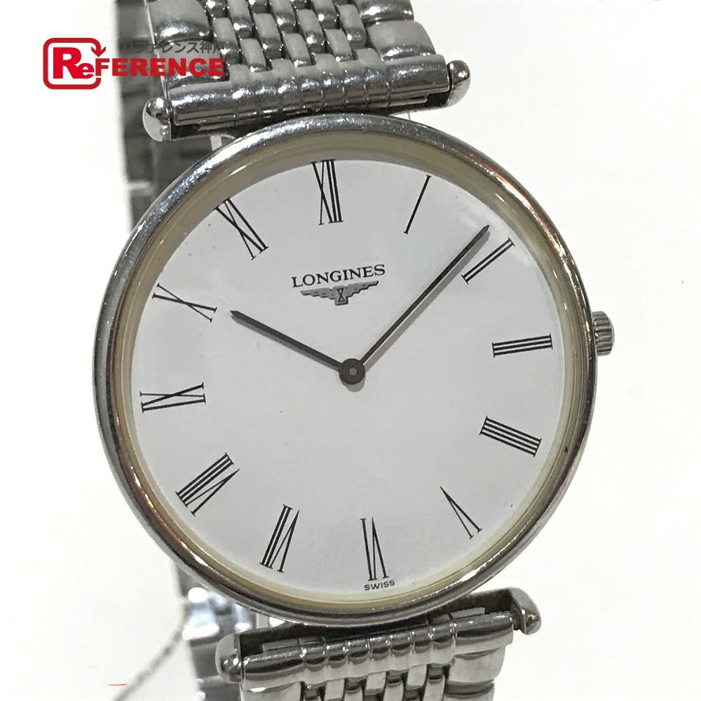 LONGINES ロンジン L4.635.4 メンズ腕時計 グランドクラシック 腕時計 SS シルバー メンズ【中古】