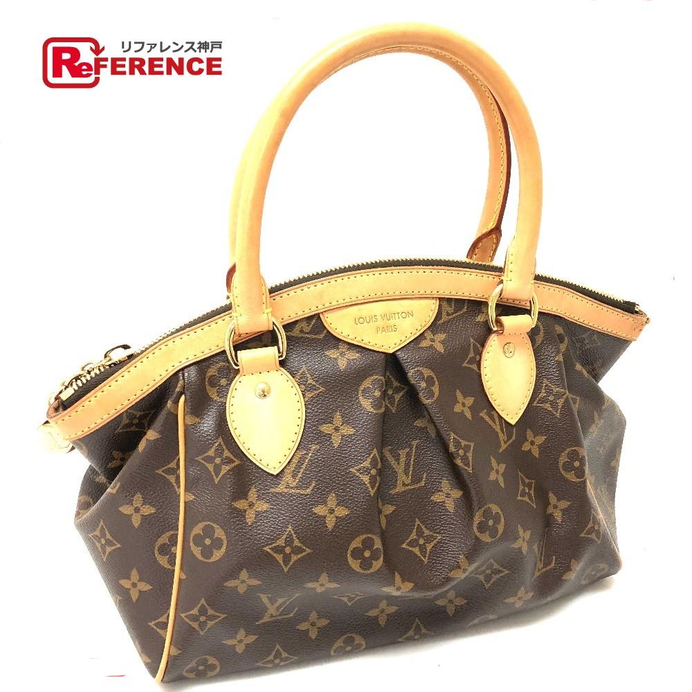 Authentic Louis Vuitton Monogram Tivolipm Women S Bag Hand Brown Monogramcanvas M40143