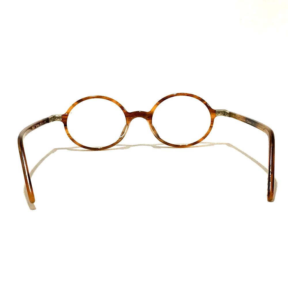 AUTHENTIC Lunor Degree round Women's Accessories glasses BrownBased Plastic  A5 Mod 230