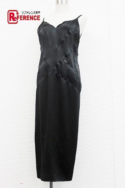CHANEL シャネル  P19577 02P ワンピース ドレス シルク ブラック【中古】