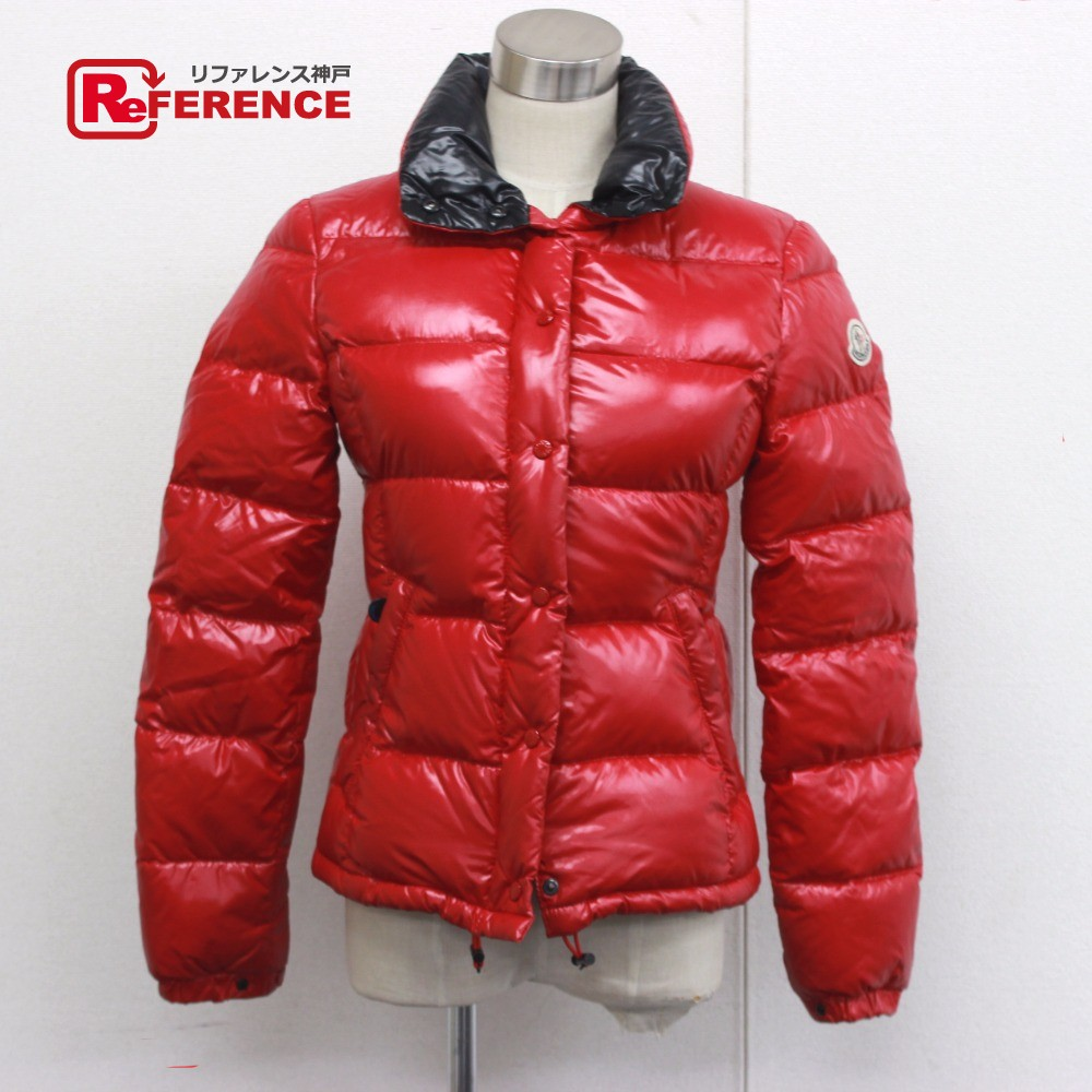 more photos 483fd 7492b AUTHENTIC MONCLER CLAIRY Crayley Outer apparel Down jacket Red