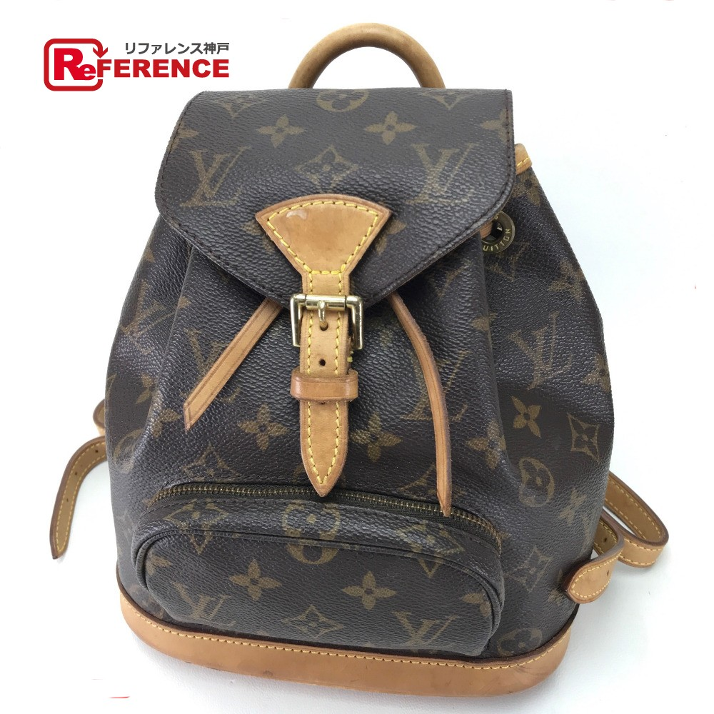 fac5842befff LOUIS VUITTON Louis Vuitton M51137 rucksack backpack mon pickpocket PM monogram  rucksack day pack monogram canvas   brown Lady s