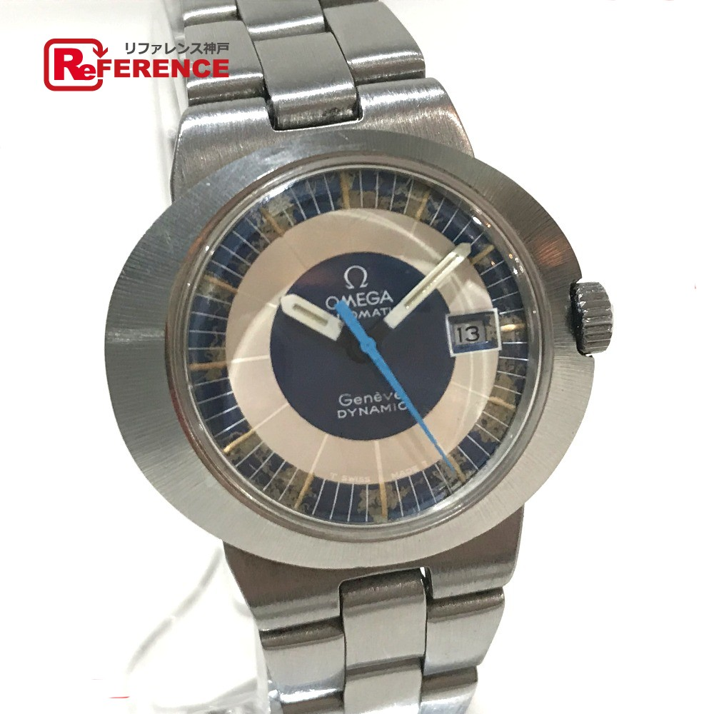 OMEGA オメガ レディース腕時計 ダイナミック ジュネーブ 腕時計 SS シルバー レディース【中古】