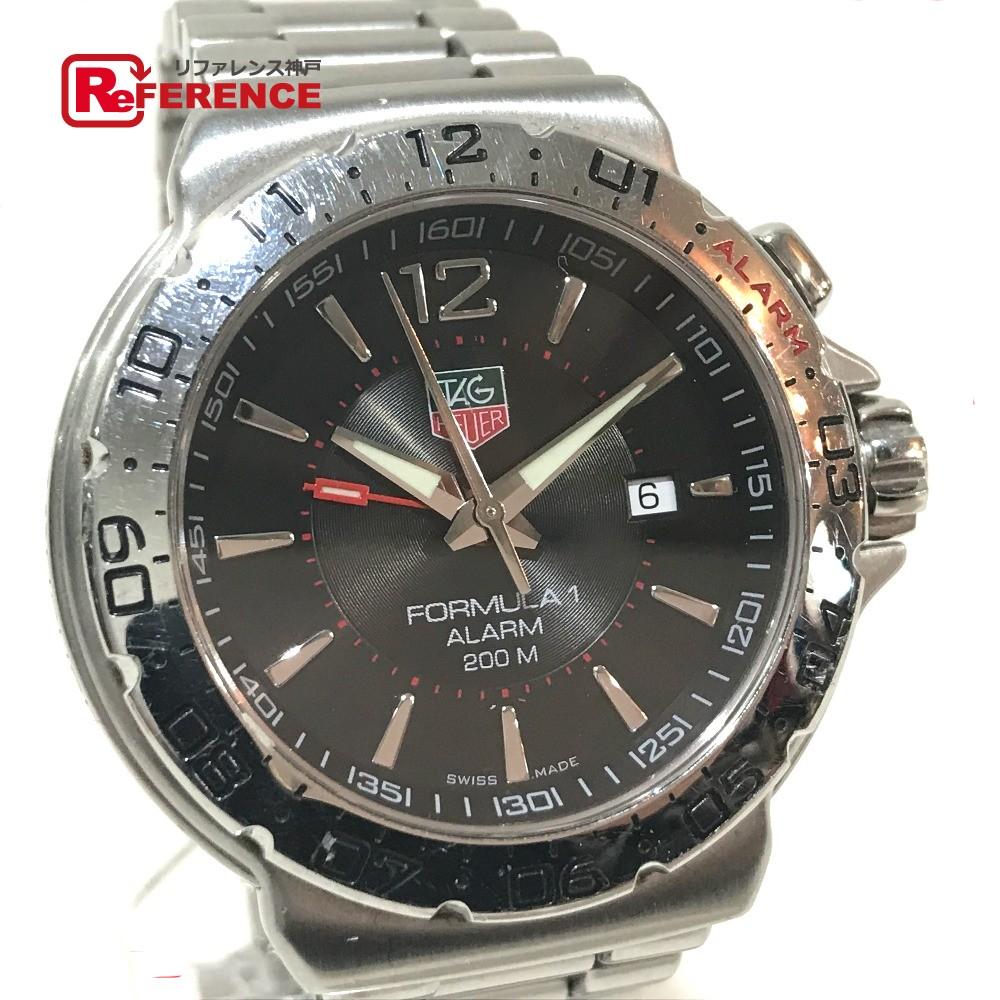 TAG HEUER タグホイヤー WAC111A メンズ腕時計 フォーミュラ1 アラーム デイト 腕時計 SS シルバー メンズ【中古】