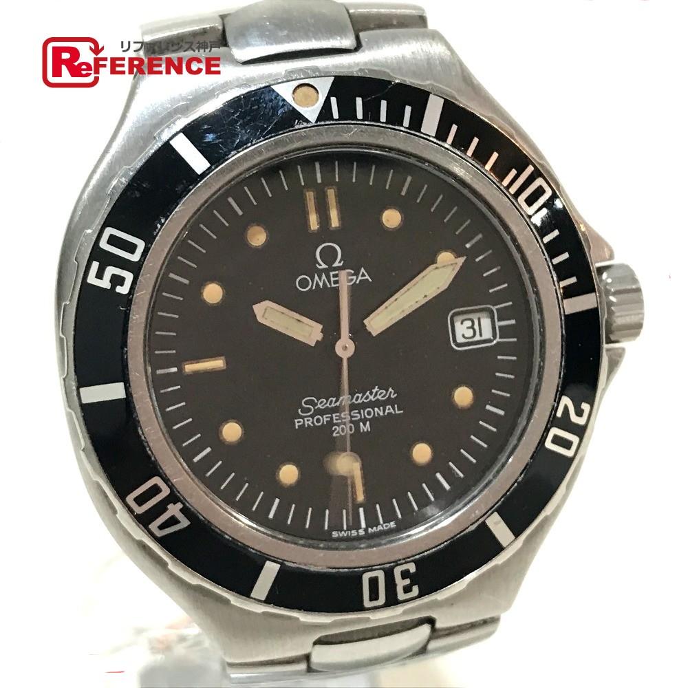 OMEGA オメガ 2850.50 メンズ腕時計 シーマスター プロフェッショナル デイト 腕時計 SS シルバー メンズ【中古】
