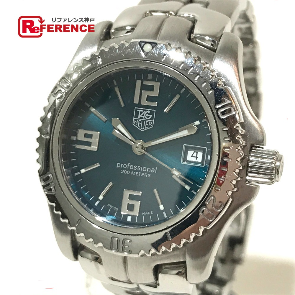 TAG HEUER タグホイヤー WT1319 レディース腕時計 リンク 限定品 デイト プロフェッショナル 腕時計 SS シルバー レディース【中古】