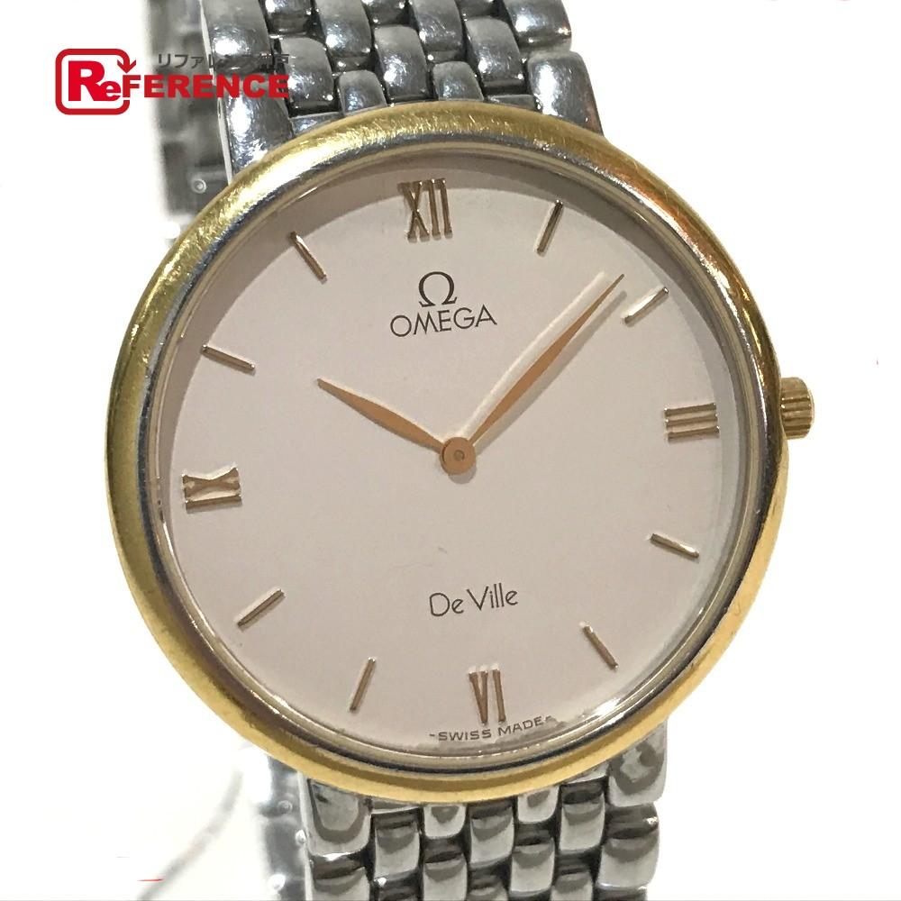 OMEGA オメガ メンズ 腕時計 De Ville デビル 腕時計 SS/GP シルバー メンズ【中古】