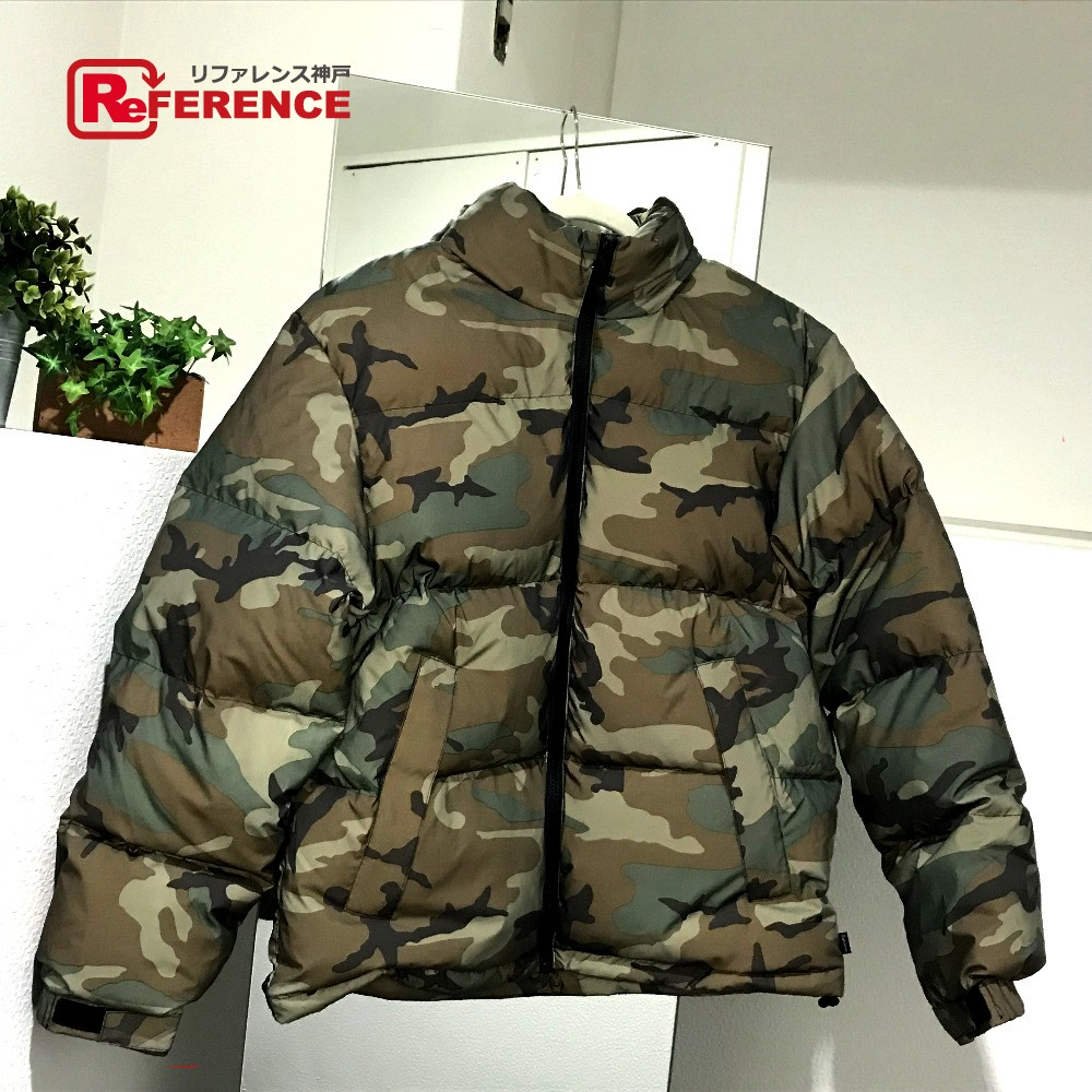 34084c1ff606b AUTHENTIC Supreme Unused 18 AW Supreme Reflective Camo Down Jacket  Reflective duck Hooded Down jacket Camouflage ...