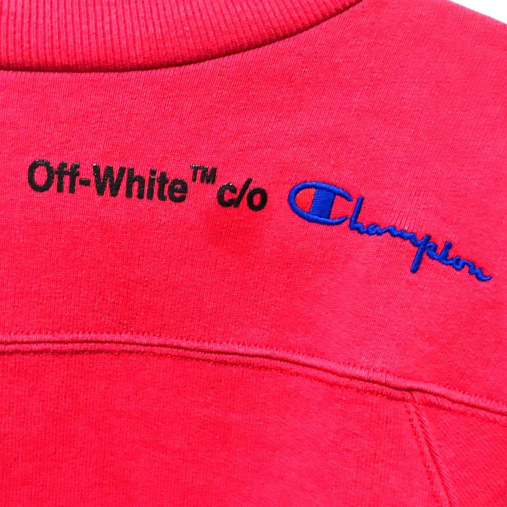 bf55c31559a Off White X Champion Crewneck Sweatshirt – DACC