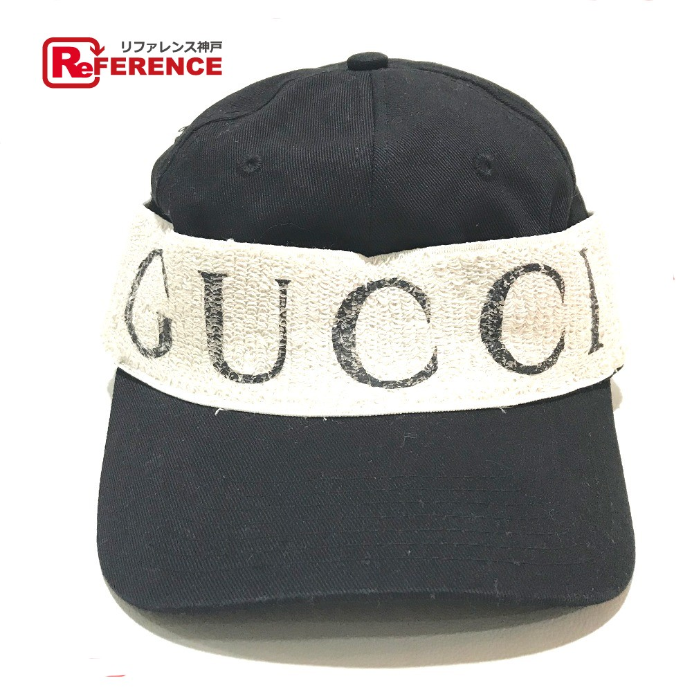 f8fc4f07015 GUCCI Gucci baseball cap tag existence GUCCI logo hat polyester black is  unisex