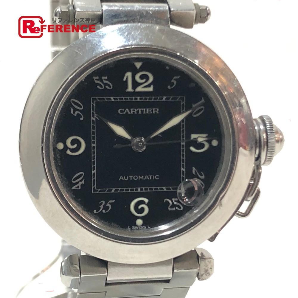CARTIER カルティエ W31076M7 レディース腕時計 パシャC 腕時計 SS シルバー レディース【中古】