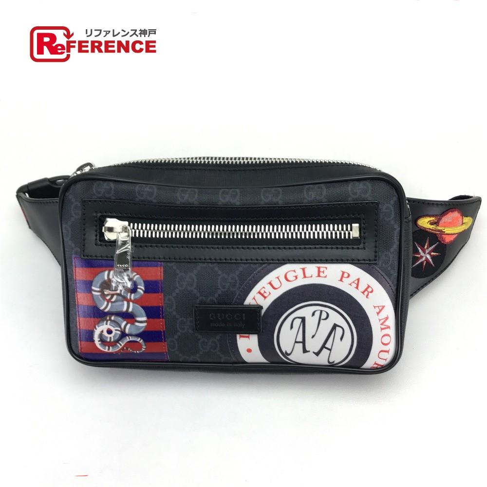 222f38e77b07 GUCCI Gucci 474293 belt bag hips bag bum-bag porch courier software GG  スプリームオンライン ...
