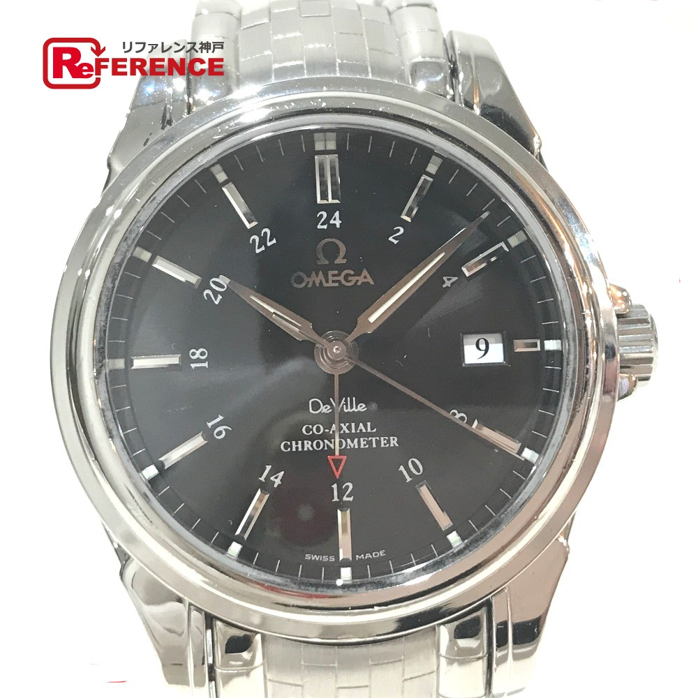 OMEGA オメガ 4533.51 メンズ腕時計 デビル コーアクシャル デイト クロノメーター 腕時計 SS シルバー メンズ【中古】