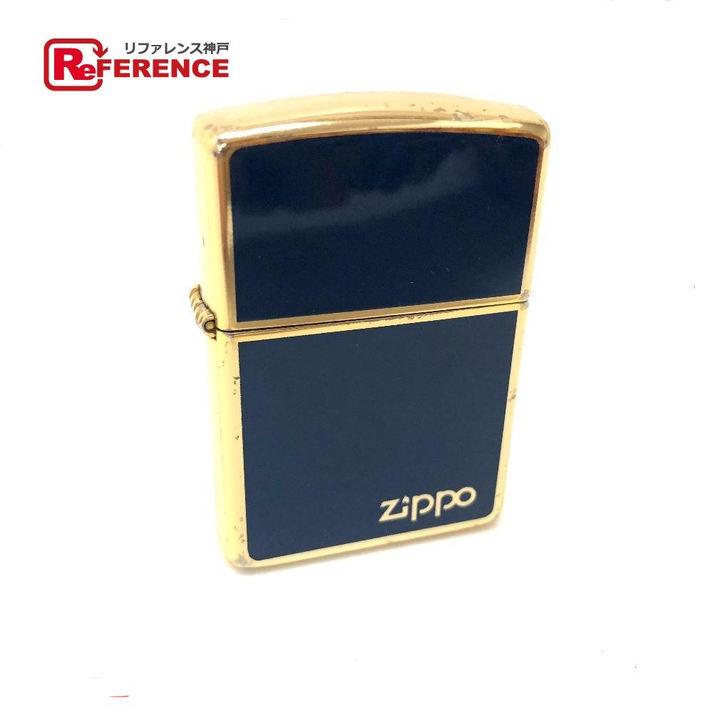 ZIPPO ジッポ メンズ レディース ライター メタル/ ゴールド メンズ【中古】
