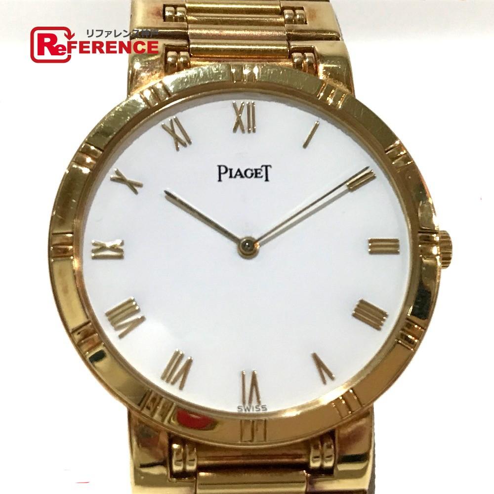 PIAGET ピアジェ 84023 ダンサー 金無垢 メンズ腕時計 腕時計 K18YG イエローゴールド ボーイズ【中古】