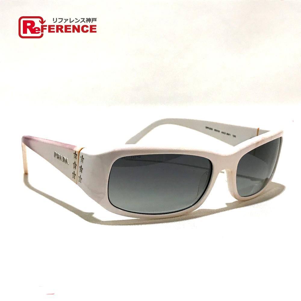 3b976f8309 AUTHENTIC PRADA Fashion Accessories Men s Women s sunglasses White Plastic  SPR20G