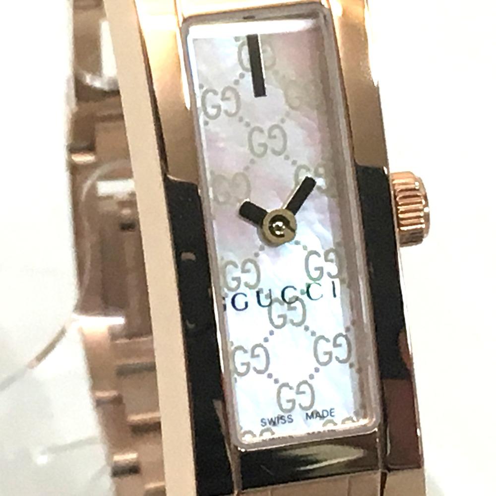fd1684d073c AUTHENTIC GUCCI Unused GG line G ring Quartz Women s Watch Wristwatch Gold  SS 110