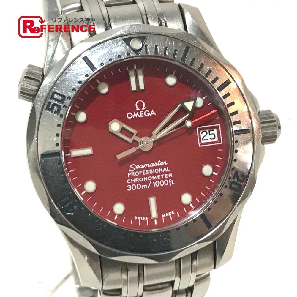 OMEGA オメガ 2552.61 メンズ腕時計 シーマスター マルイ限定モデル プロフェッショナル クロノメーター300M 腕時計 SS シルバー ボーイズ【中古】